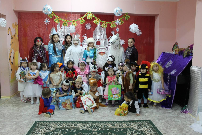 Новогодний утренник в нашем детском саду